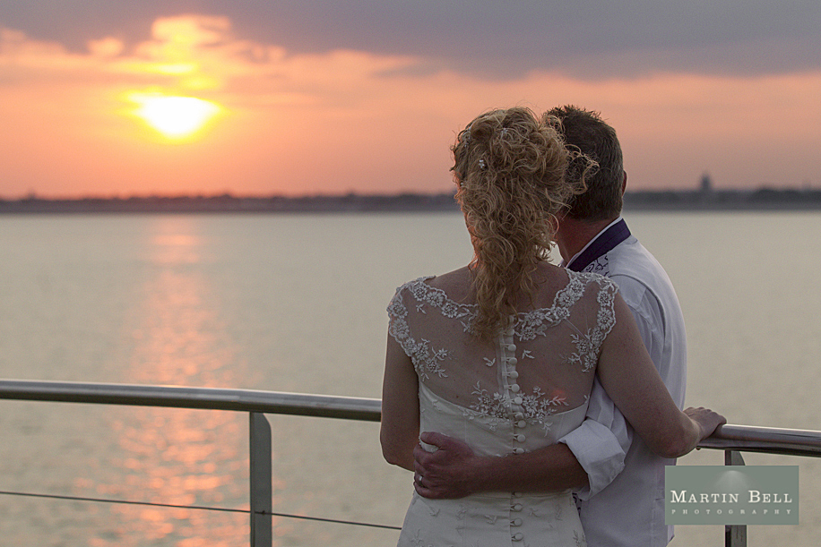 Spitbank Fort wedding photography - Emma & Martin