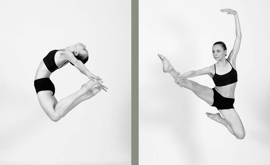 Dance audition and portfolio photographs - Megan Reid, Northern Ballet School