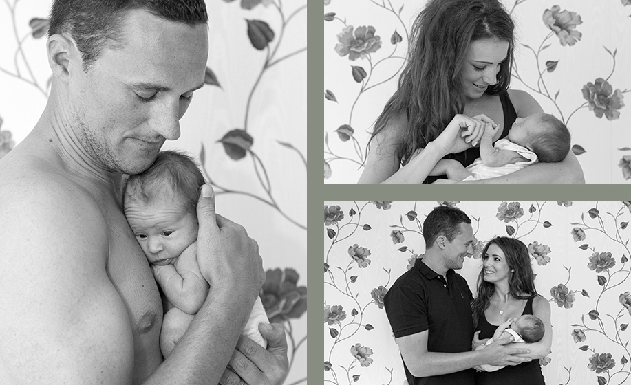 fine art newborn photography in London, Petersfield and Fareham by Hampshire newborn and baby photographer Martin Bell Photography.
