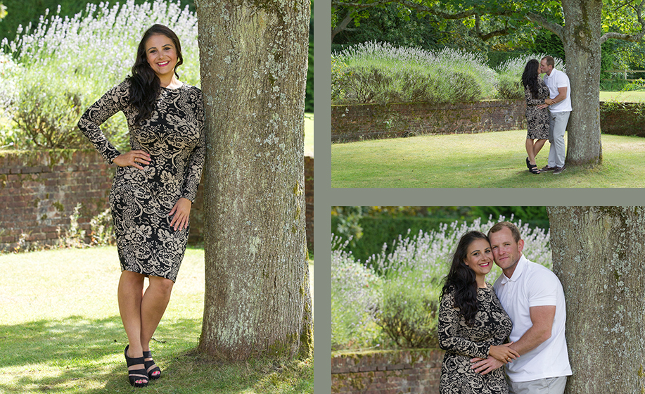 DeVere New Place wedding ~ Kerry and Ryan's Hampshire engagement photo shoot