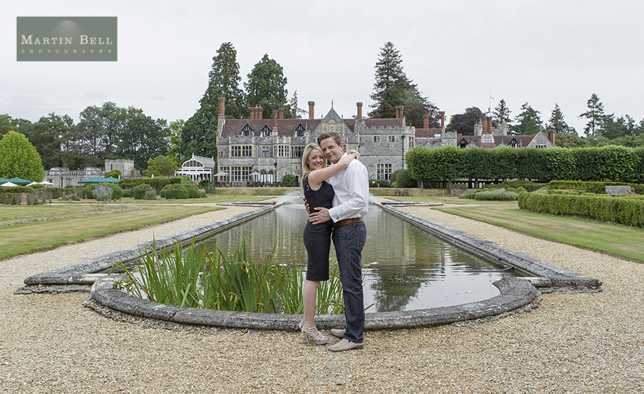 Rhinefield House wedding photographer, engagement photo shoot New Forest by Hampshire wedding photographer Martin Bell Photography