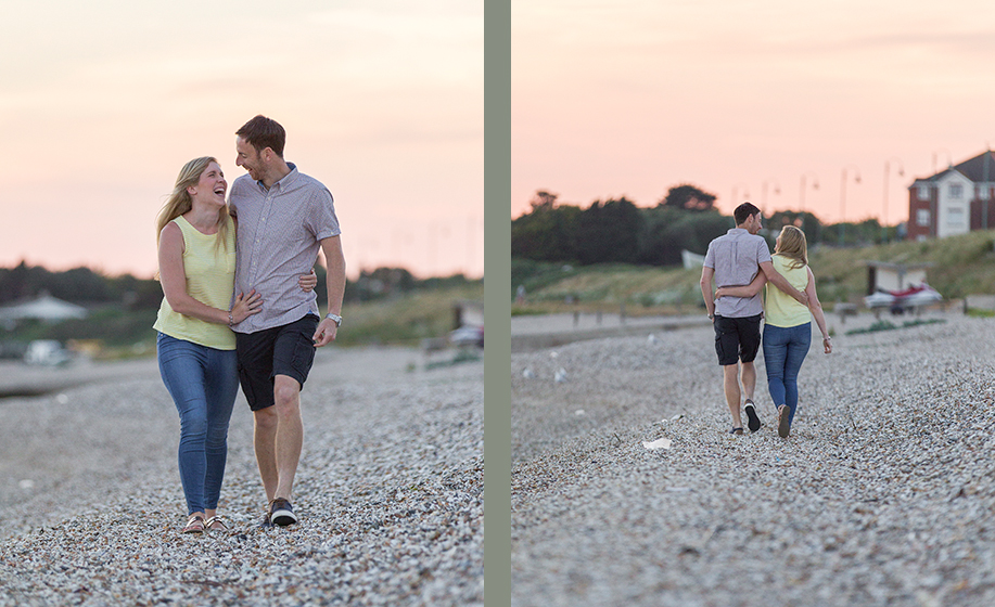 hampshire wedding photography by the sea with sophie and steve in lee on the solent by Martin Bell Photography