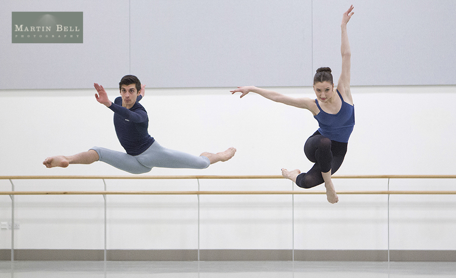 Commercial photographs of Northern Ballet's Graduate Professional Programme
