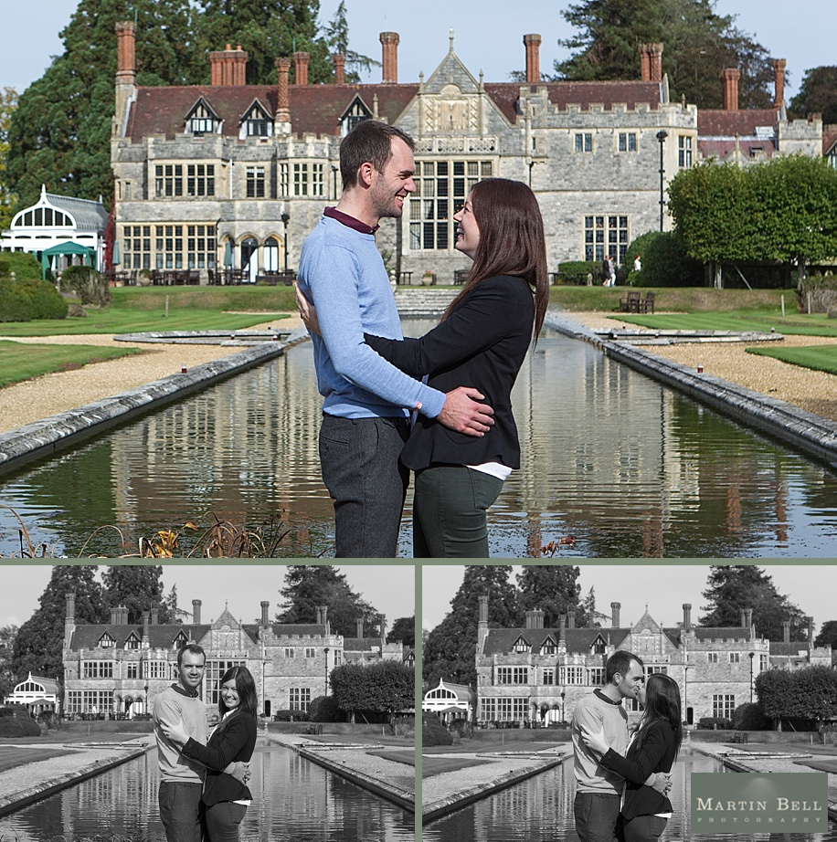 Rhinefield House Wedding photographer ~ Kim and Tim's engagement photographs by Hampshire Wedding Photographer, Martin Bell Photography