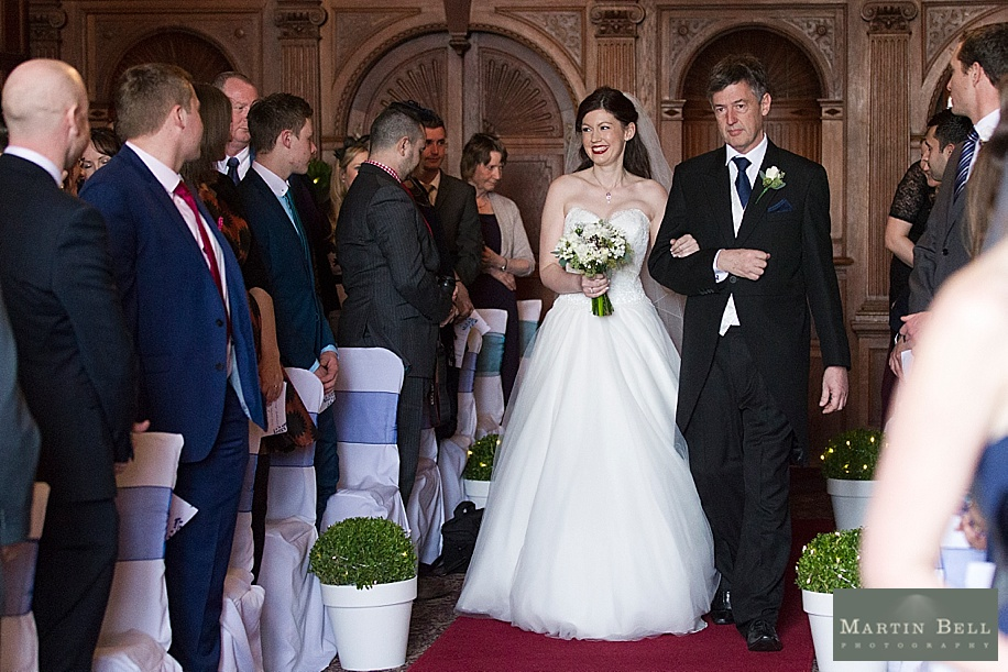 Kim and Tim Davis' exclusive use winter wedding at Rhinefield House. All photographs by Martin Bell Photography