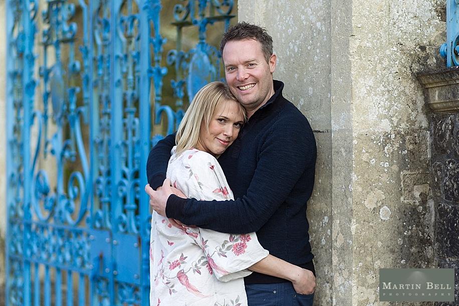 Hampshire wedding photographer - fun engagement photo shoot - RHinefield House - Martin Bell Photography