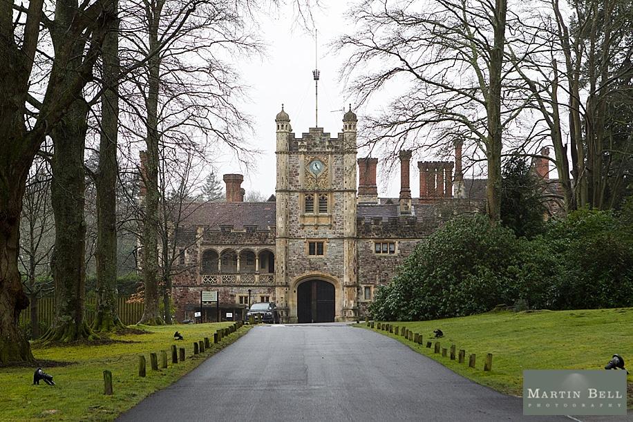 rhinefield house wedding - main entrance