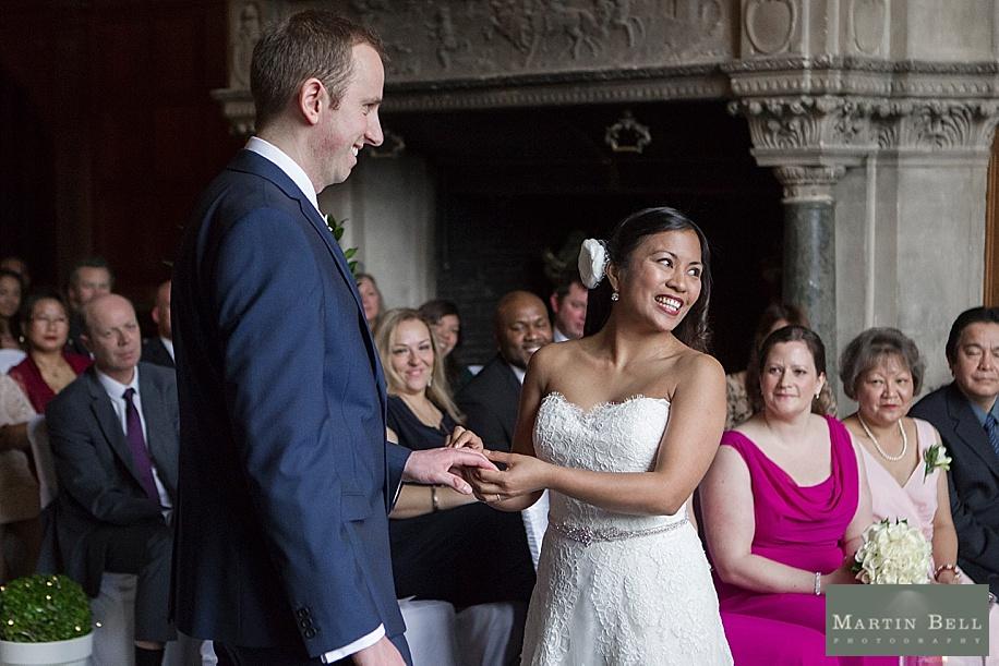 Rhinefield House wedding - wedding photography by Hampshire wedding photographer Martin Bell Photography
