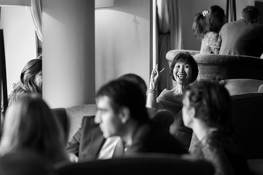 Documentary photography at a Rhinefield House wedding