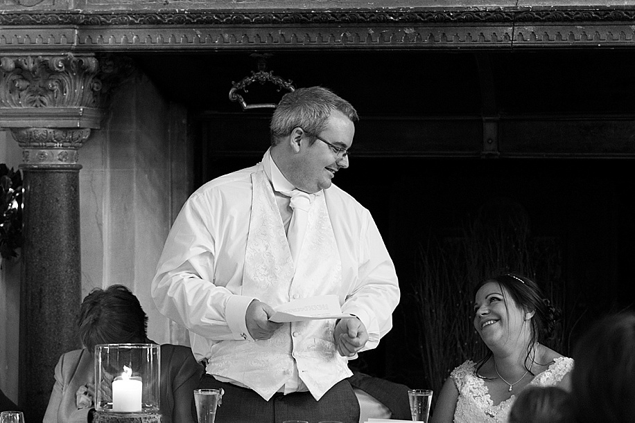 A Rhinefield House wedding by Hampshire wedding photographer - Martin Bell Photography - speeches
