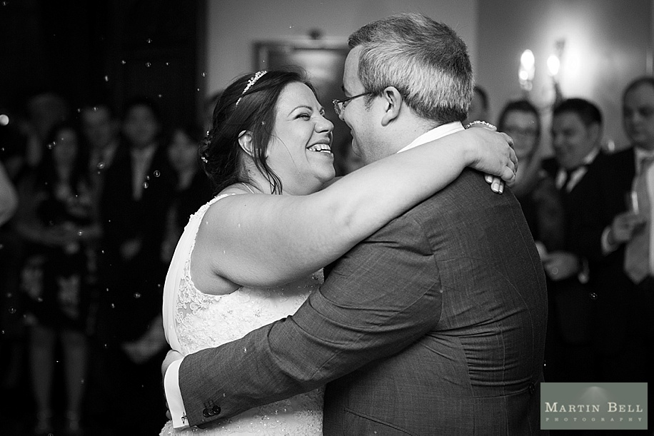 A Rhinefield House wedding by Hampshire wedding photographer - Martin Bell Photography - first dance