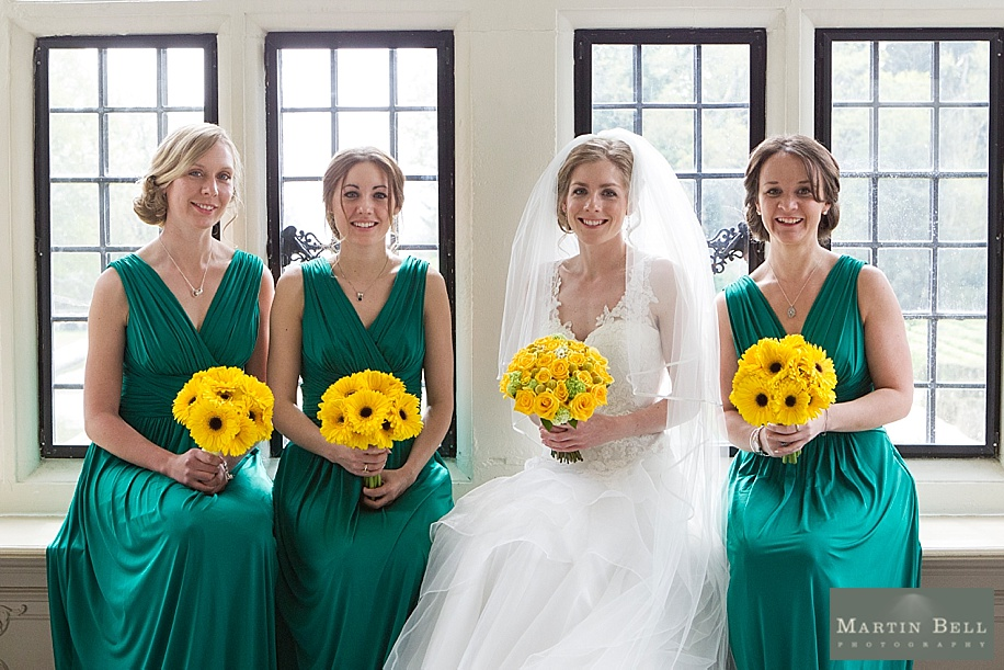Rhinefield House wedding photography by Martin Bell Photography - Fun Bridesmaid photographs