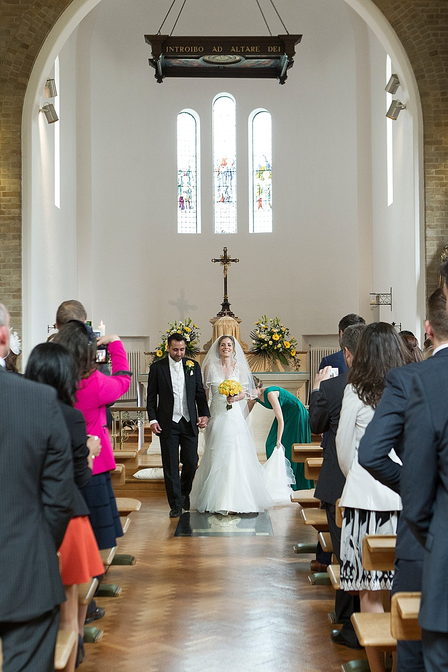Rhinefield House wedding photography by Martin Bell Photography - At Annes Church Brokenhurst
