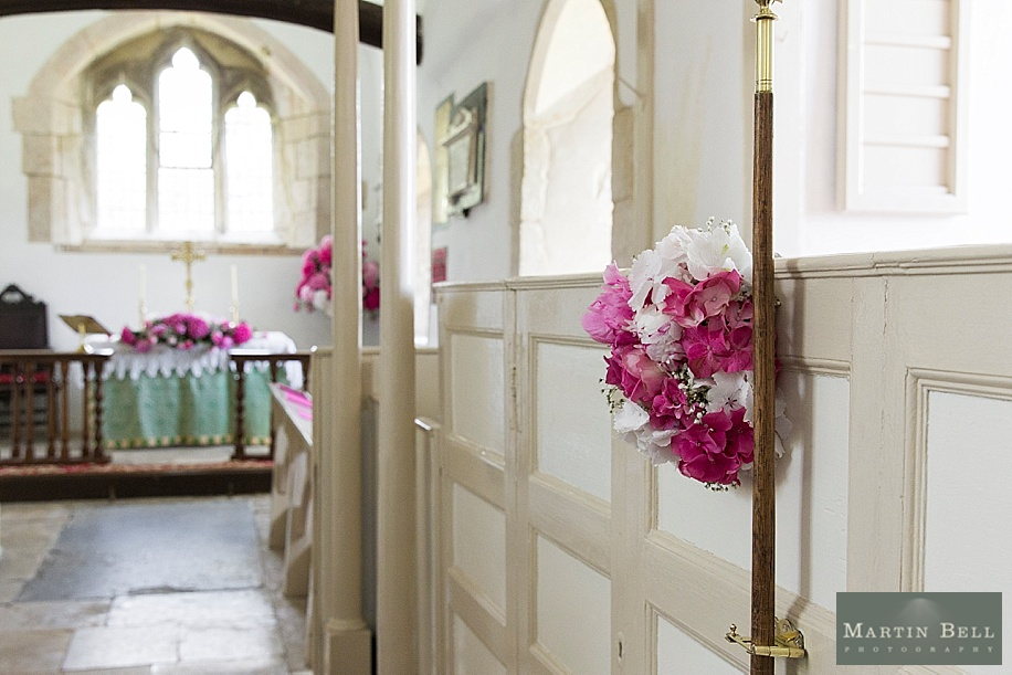 Dorset wedding photographer -All Saints church, chalbury - Martin Bell Photography