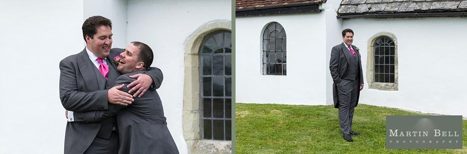 Dorset wedding photographer - Groom portrait photographs - Martin Bell Photography