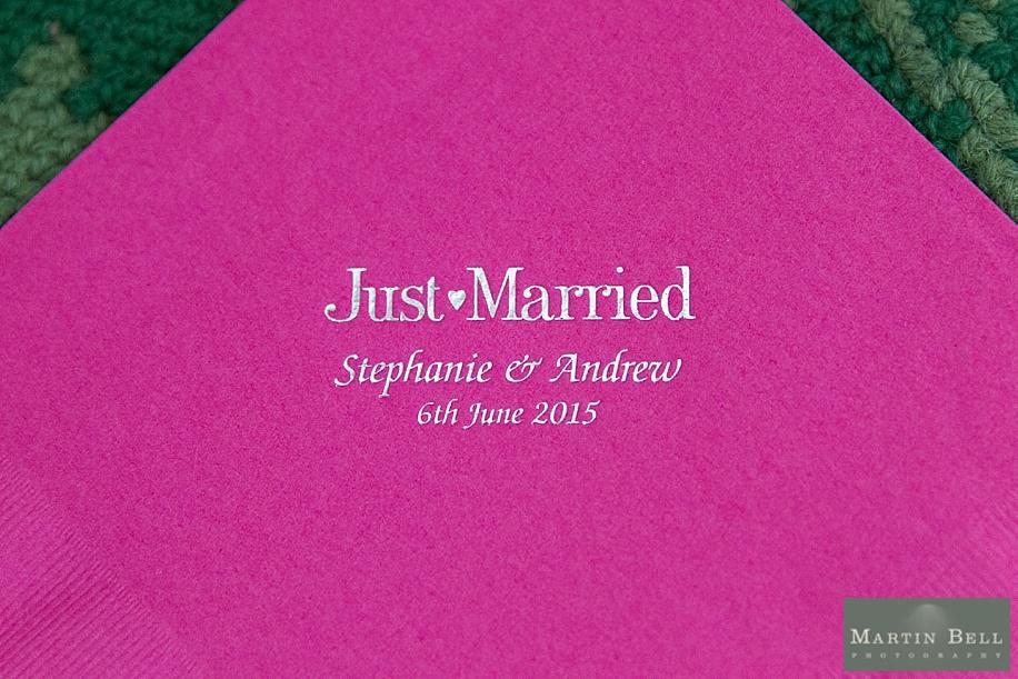 Cool wedding idea at All Saints, Chalbury - Dorset wedding photographers by Martin Bell Photography