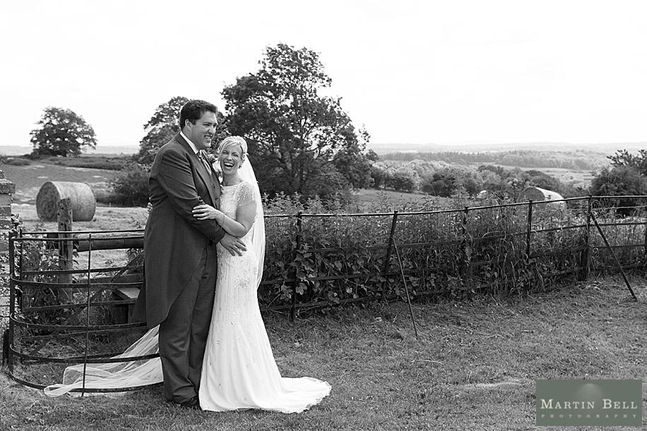 Wedding photographs at All Saints, Chalbury - Dorset wedding photographers by Martin Bell Photography