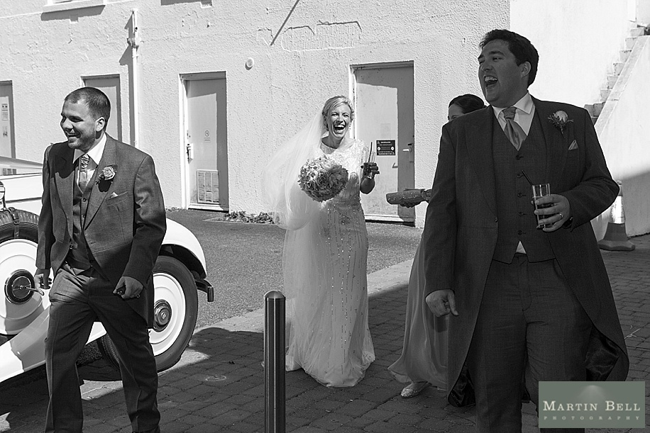 Dorset wedding photography at Harbour Heights Hotel by Martin Bell Photography