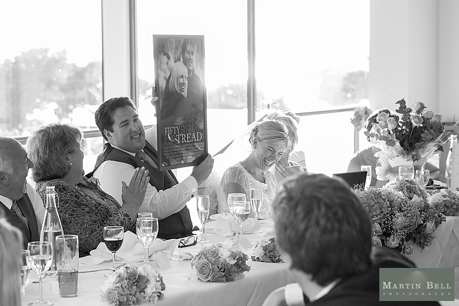 Documentary wedding photography at Harbour Heights Hotel by Dorset wedding photographers, Martin Bell Photography