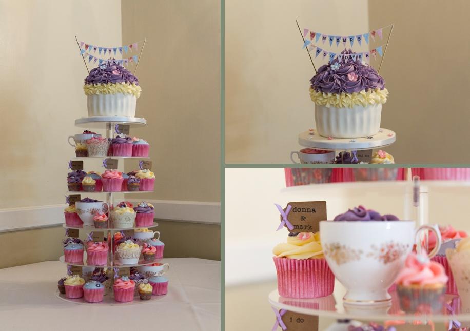Cupcake wedding ideas for an intimate Rhinefield House wedding