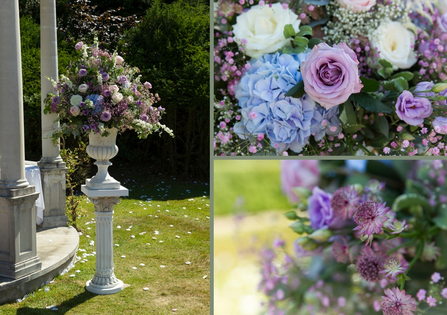 Outdoor ceremony ideas for an intimate Rhinefield House wedding