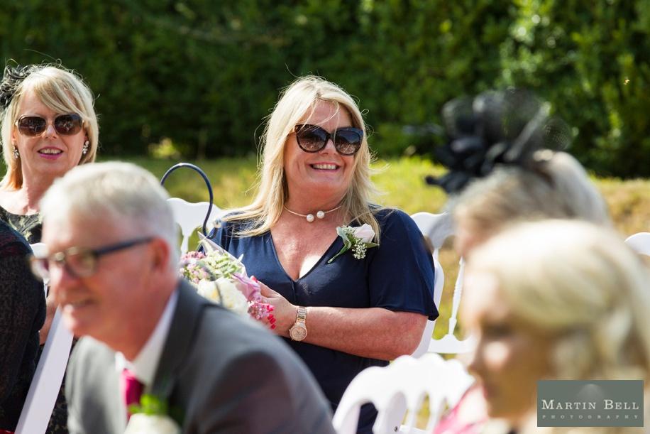 Small outdoor intimate Rhinefield House wedding