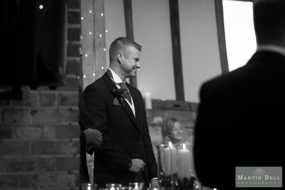 Manor Barn Buriton wedding photography - Groom