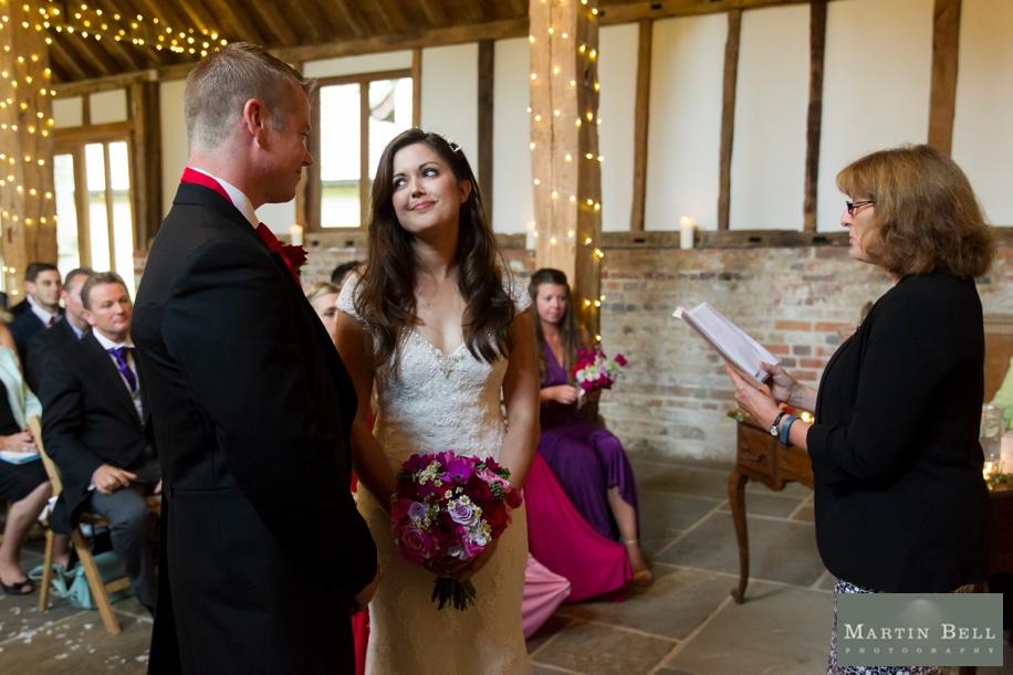 Documentary wedding photography at The Manor Barn near Petersfield