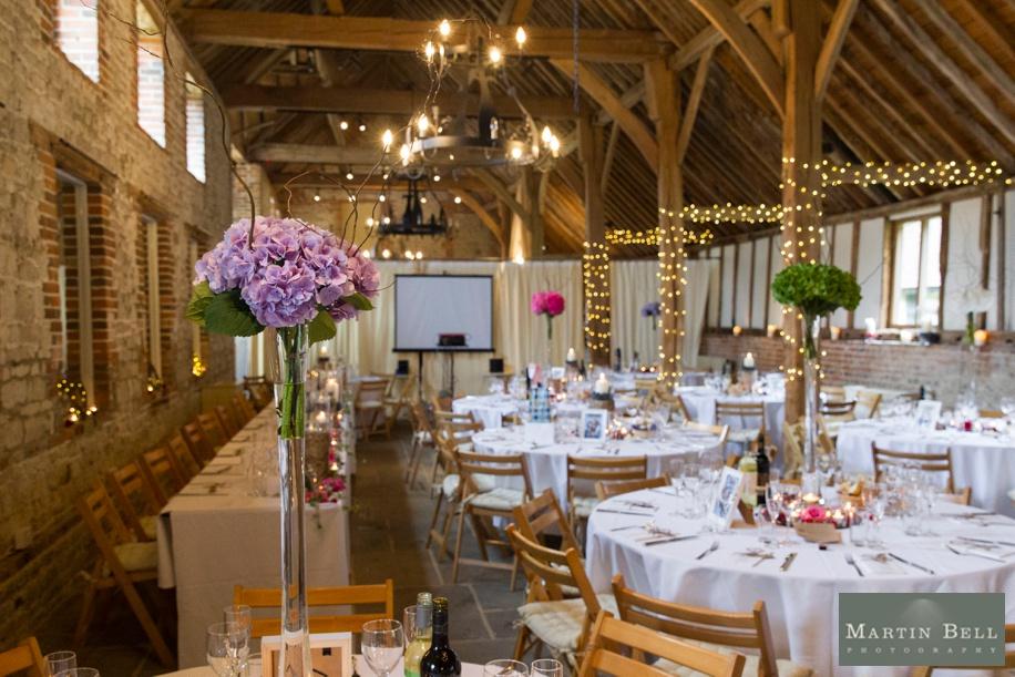 Manor Barn Buriton wedding breakfast ideas