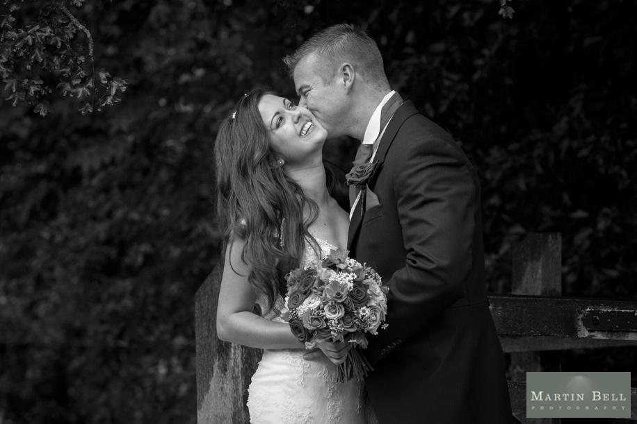 Buriton Manor Barn wedding photography - photographs of the happy couple