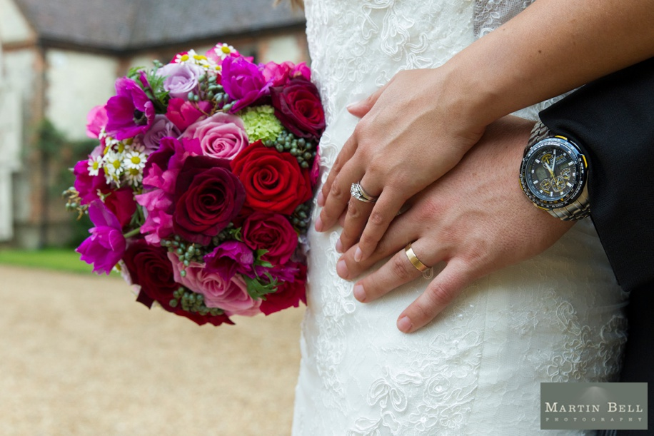 Manor Barn Buriton wedding photography - wedding rings