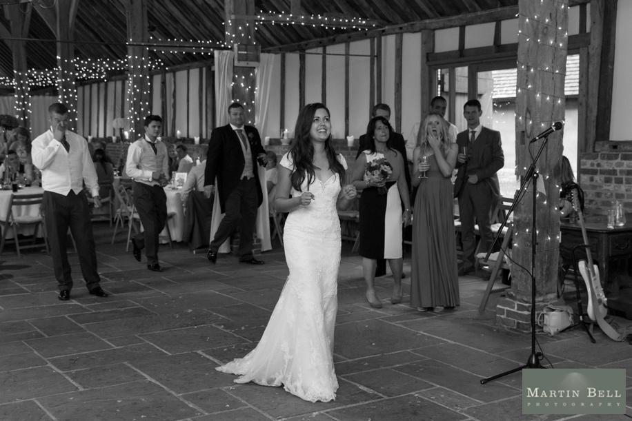Buriton Manor Barn wedding photography - first dance