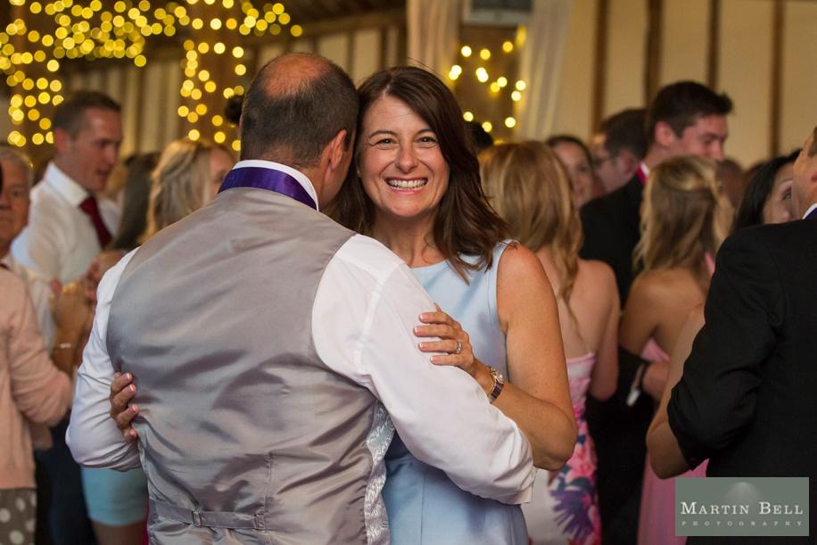 Manor Barn Buriton wedding - evening reception
