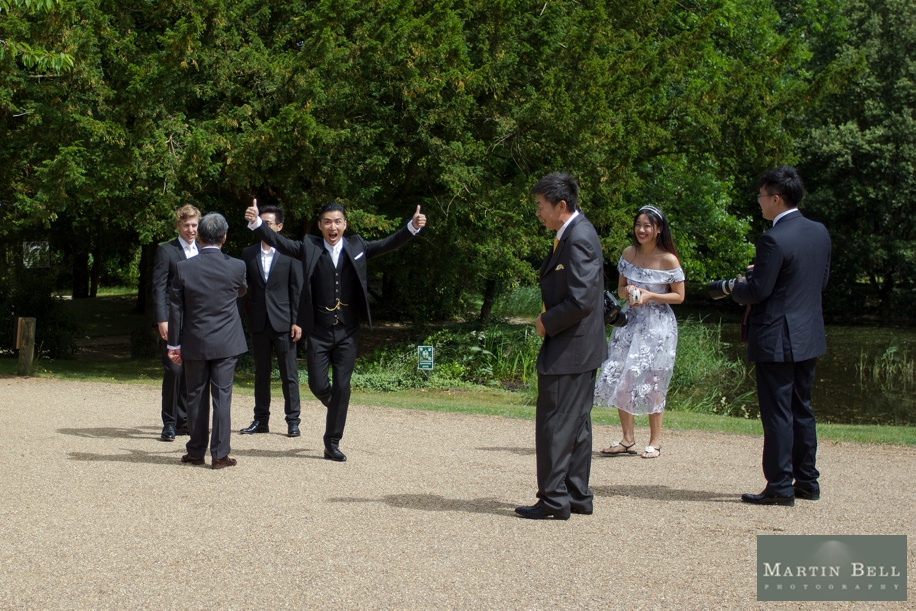 Documentary wedding photography at Manor by the Lake in Gloucestershire - Martin Bell Photography