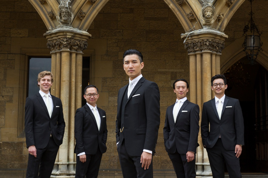Cool Groomsmen photograph - Martin Bell Photography
