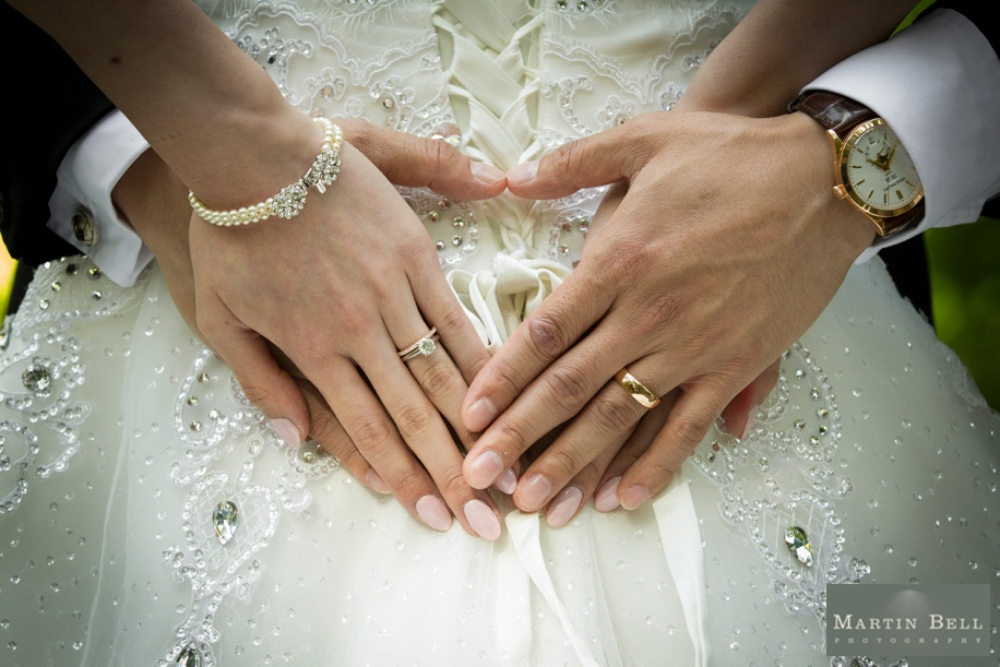Cool wedding ring photograph at Manor by the Lake - Martin Bell Photography