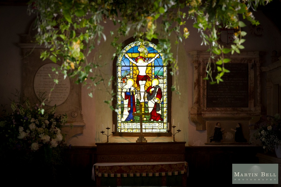 Church wedding in Winchester by Martin Bell Photography