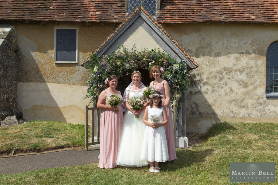 Hampshire wedding photography at a church wedding in Winchester by Martin Bell Photography