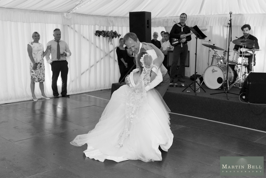 Marquee wedding - first dance