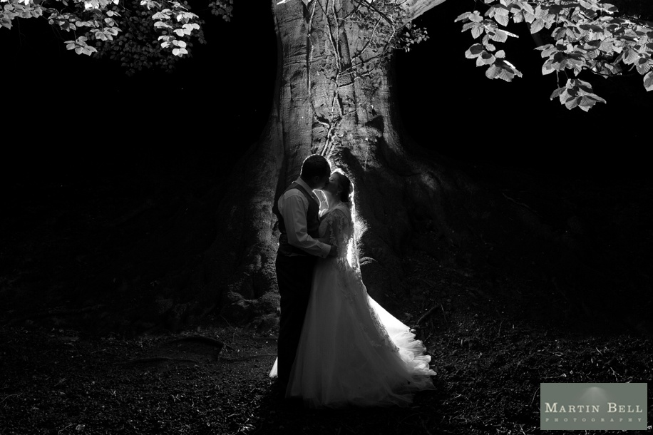 Night wedding photographs at a marquee wedding in Winchester by Martin Bell Photography