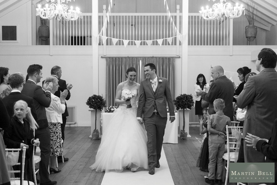 Marwell Hotel wedding - ceremony photographs