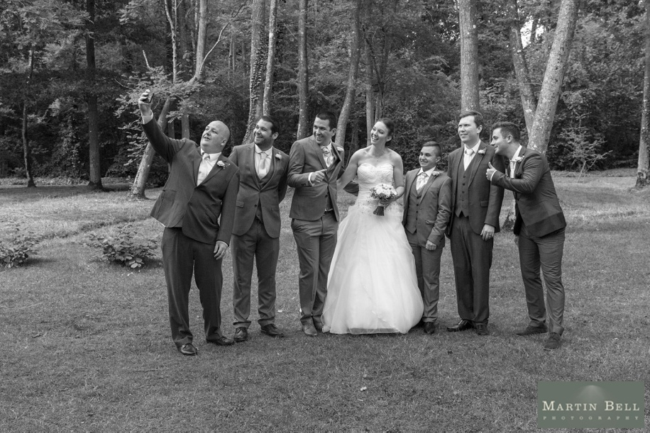 Documentary wedding photographs at Marwell Hotel, Hampshire
