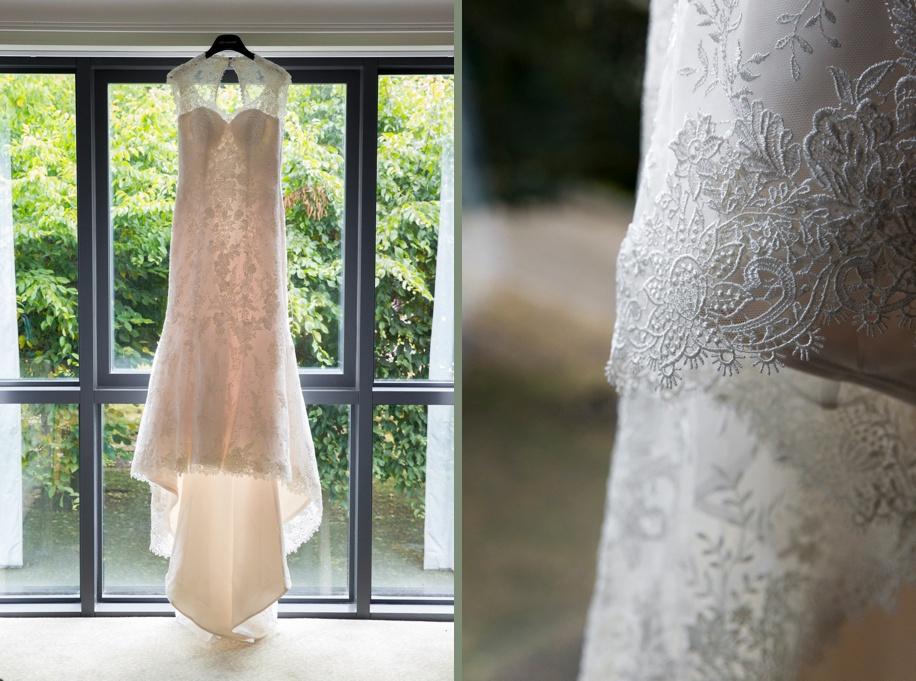 Stunning lace wedding dress ideas - Martin Bell Photography