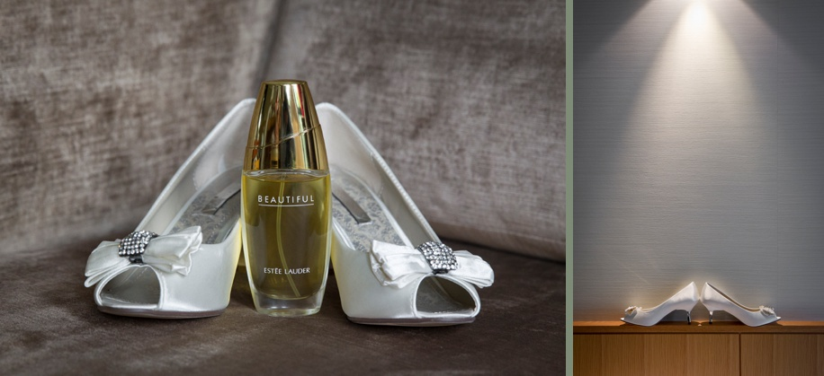 small heel wedding shoes - Martin Bell Photography