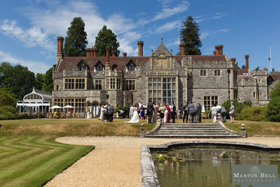 Wedding reception at Rhinefield House - Documentary wedding photographer - Martin Bell Photography