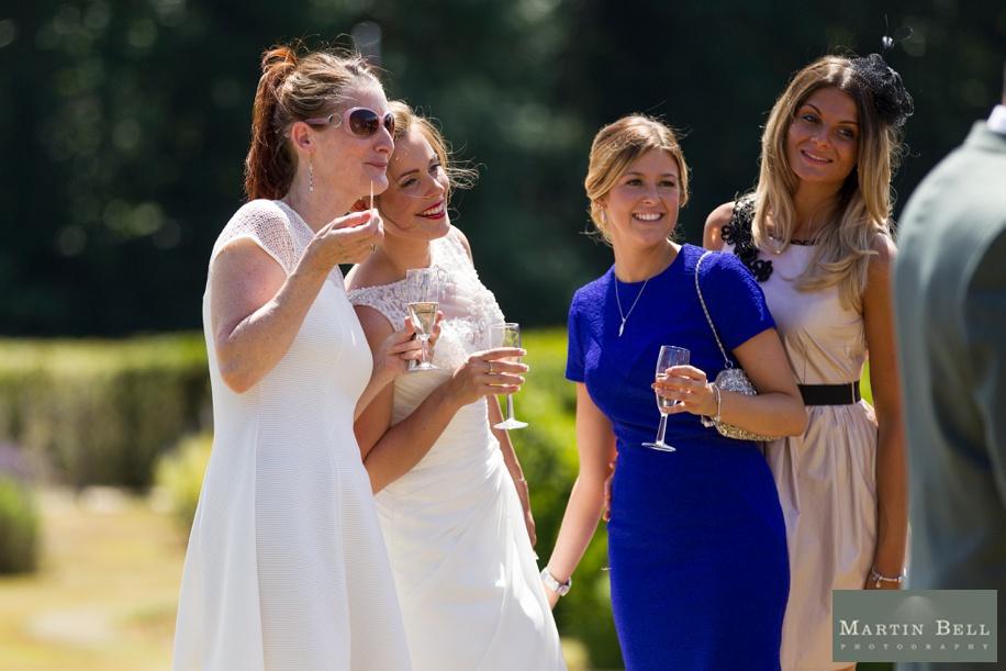 Wedding reception at Rhinefield House - Documentary wedding photographer - Martin Bell Photography