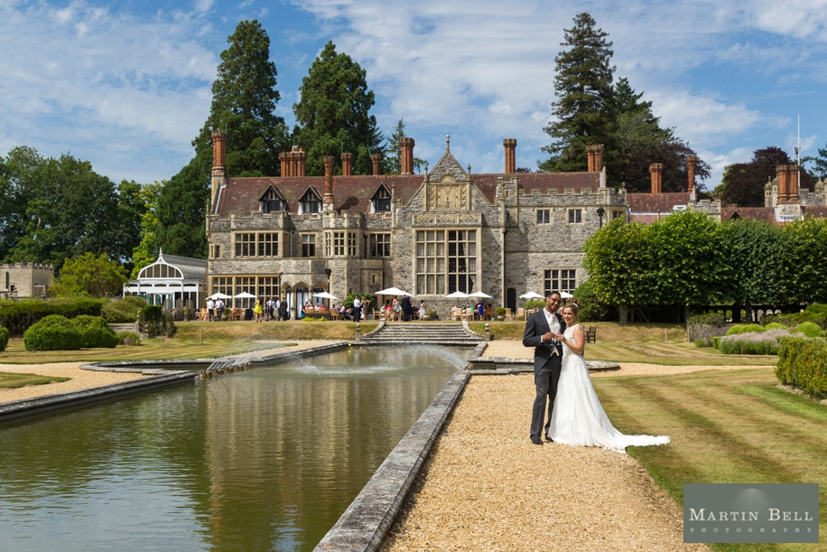 New Forest wedding - Rhinefield House - Martin Bell Photography - Bride and Groom photographs