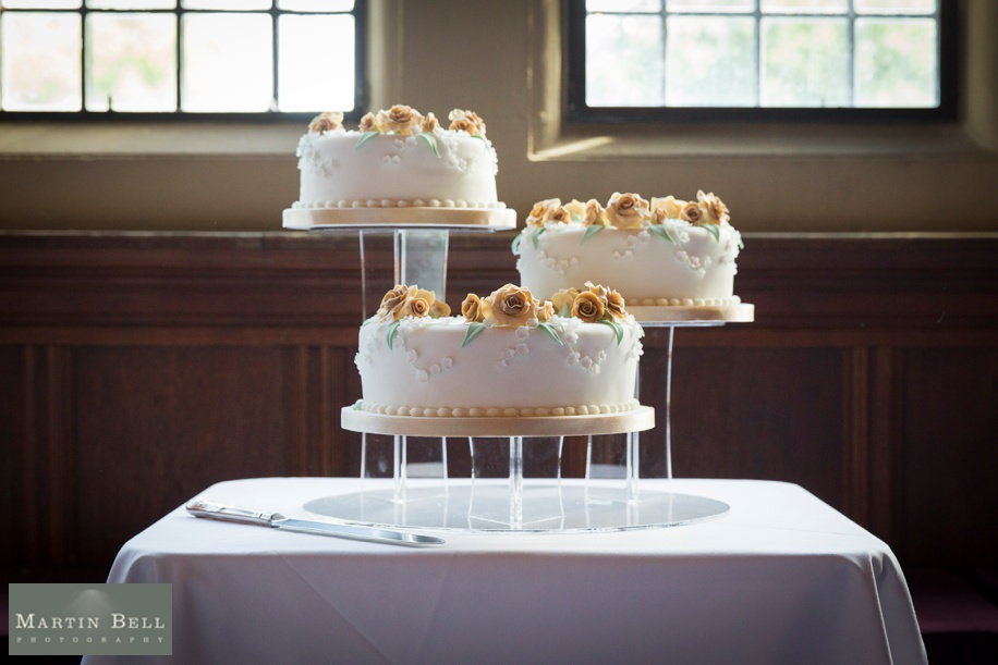 Wedding cake ideas from a Rhinefield House wedding