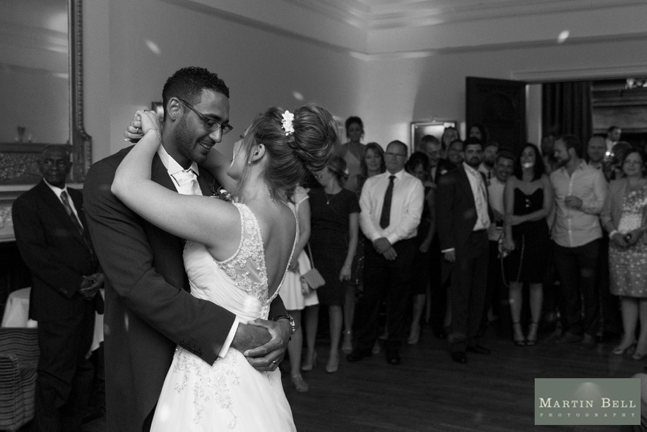 First dance photographs at Rhinefield House, New Forest - Martin Bell Photography