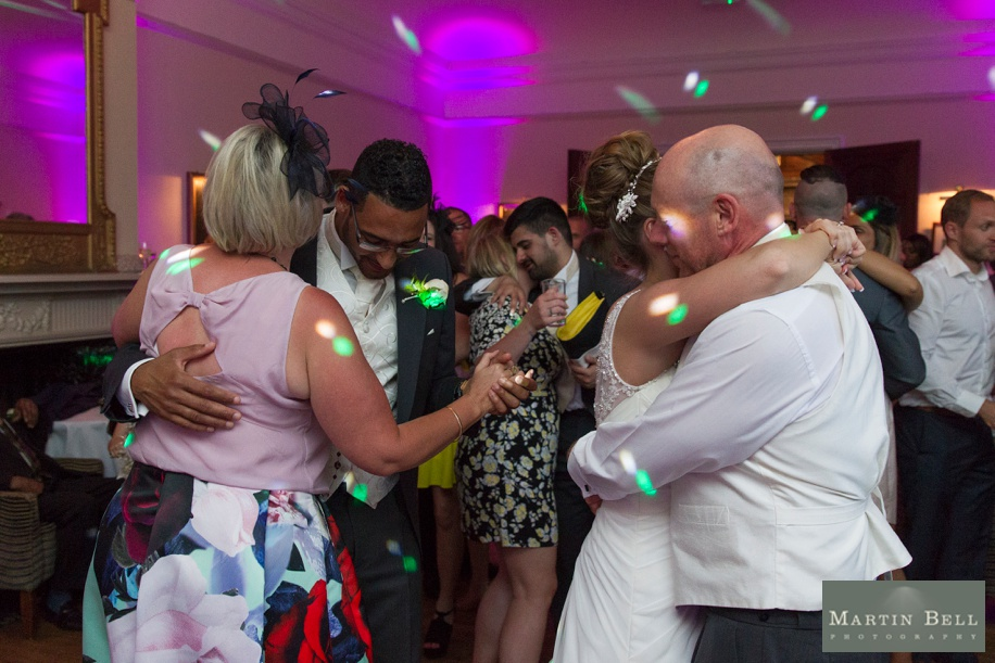 evening reception photographs at Rhinefield House - Martin Bell Photography